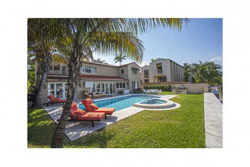 Home for Sale at 6105 Pinetree Drive, Miami Beach FL 33140