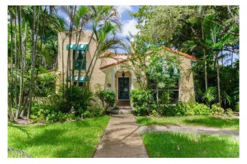 Home for Sale at 1818 Granada Bl, Coral Gables FL 33134