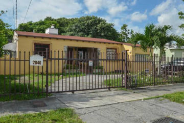 Home for Sale at 2840 NW 4 St, Miami FL 33125