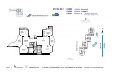 Home for Sale at 17555 Collins Av #1407, Sunny Isles Beach FL 33160