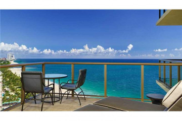 Home for Sale at 9703 NE Collins Ave #1205, Bal Harbour FL 33154