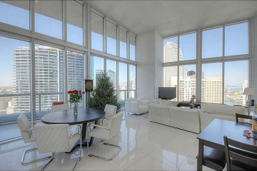 Home for Rent at 465 Brickell Av #4102, Miami FL 33131