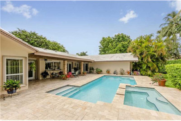 Home for Sale at 17025 SW 79 Ct, Palmetto Bay FL 33157