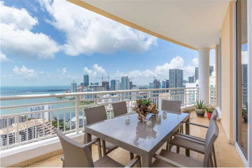 Home for Sale at 848 Brickell Key Dr #PH4405, Miami FL 33131