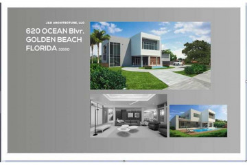 Home for Sale at 620 Ocean Blvd, Golden Beach FL 33160