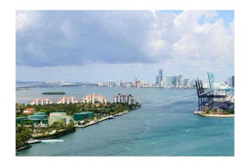 Home for Rent at 100 S Pointe Dr #2003, Miami Beach FL 33139