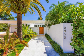Home for Sale at 6455 Allison Rd, Miami Beach FL 33141