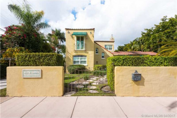 Home for Sale at 4722 Alhambra Cir, Coral Gables FL 33146