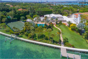 Home for Sale at 23 Star Island Dr, Miami Beach FL 33139