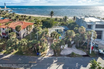 Home for Sale at 2100 Bay Dr, Pompano Beach FL 33062