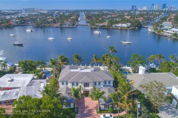 Home for Sale at 1331 E Lake Dr, Fort Lauderdale FL 33316