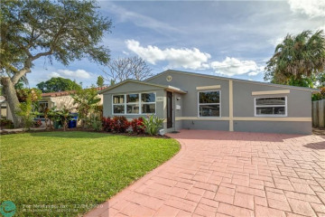 Home for Sale at 614 SW 18th Court, Fort Lauderdale FL 33315