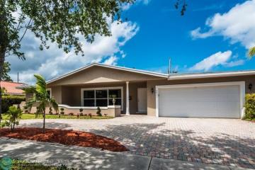 Home for Sale at 2001 NE 62nd St, Fort Lauderdale FL 33308