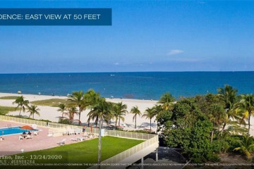 Home for Sale at 730 N Ocean Bl #1501, Pompano Beach FL 33062