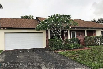 Home for Sale at 10331 NW 20th Ct, Sunrise FL 33322