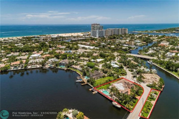 Home for Sale at 1645 E Lake Dr, Fort Lauderdale FL 33316
