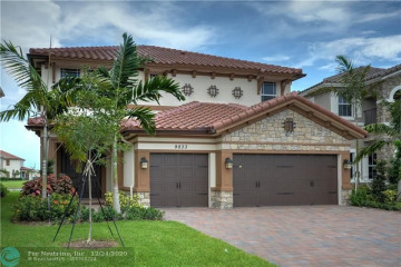 Home for Rent at 9833 Blue Isle Bay, Parkland FL 33076