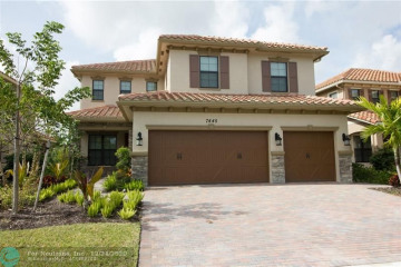 Home for Rent at 7445 NW 109th Way, Parkland FL 33076