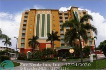 Home for Rent at 821 N Riverside Dr #701, Pompano Beach FL 33062