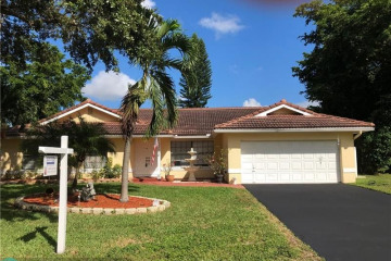 Home for Sale at 4949 NW 85th Rd, Coral Springs FL 33067