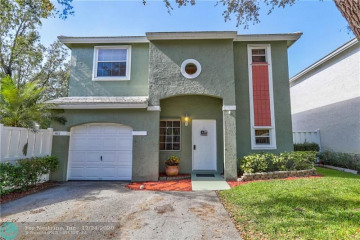 Home for Sale at 9823 NW 2nd Ct, Plantation FL 33324