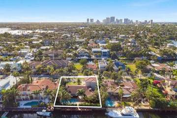 Home for Sale at 616 Riviera Isle Drive, Fort Lauderdale FL 33301
