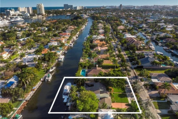 Home for Sale at 528 Riviera Dr., Fort Lauderdale FL 33301
