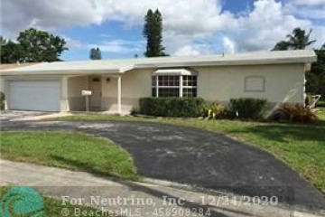 Home for Sale at 7275 NW 20th Ct, Sunrise FL 33313
