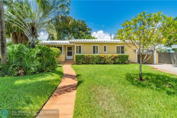 Home for Sale at 721 NE 16th Ter, Fort Lauderdale FL 33304