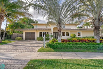 Home for Sale at 2341 NE 48 Ct, Lighthouse Point FL 33064