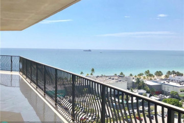 Home for Sale at 100 S Birch Rd #1501A, Fort Lauderdale FL 33316