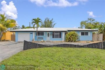 Home for Sale at 3837 NE 17th Ave, Pompano Beach FL 33064