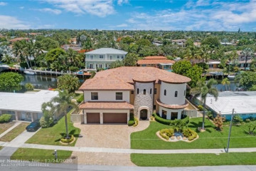 Home for Sale at 4901 NE 27th Ter, Lighthouse Point FL 33064