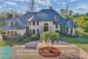 Home for Sale at 6620 Holmberg Rd, Parkland FL 33067