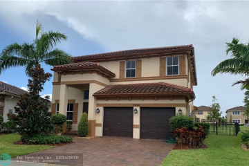 Home for Rent at 9860 Blue Isle Bay, Parkland FL 33076