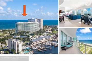 Home for Sale at 1 N Ocean Blvd #PH03, Pompano Beach FL 33062