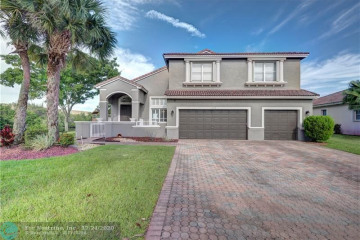 Home for Sale at 5689 NW 108th Ter, Coral Springs FL 33076