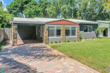 Home for Sale at 929 SW 18th Ct, Fort Lauderdale FL 33315