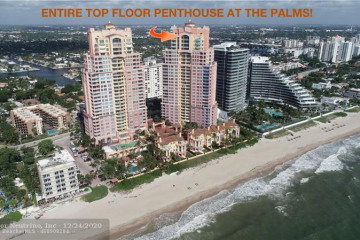 Home for Sale at 2110 N Ocean Blvd #PENTHOUSE AKA 32A, Fort Lauderdale FL 33305
