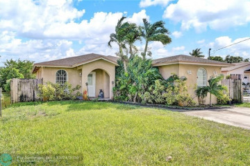 Home for Sale at 5340 SW 19th St, West Park FL 33023