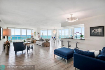 Home for Sale at 101 S Fort Lauderdale Beach Blvd #1101, Fort Lauderdale FL 33316
