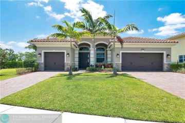 Home for Rent at 8741 Miralago Way, Parkland FL 33076