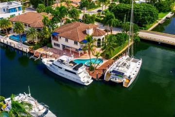 Home for Sale at 191 Seven Isles Drive, Fort Lauderdale FL 33301