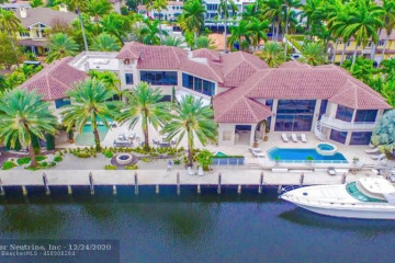 Home for Sale at 600 Isle Of Palms Dr, Fort Lauderdale FL 33301