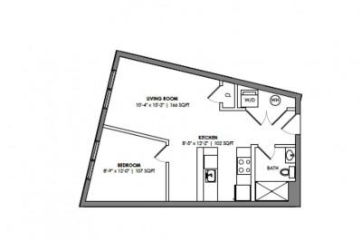 1457 Tremont St. #306 1