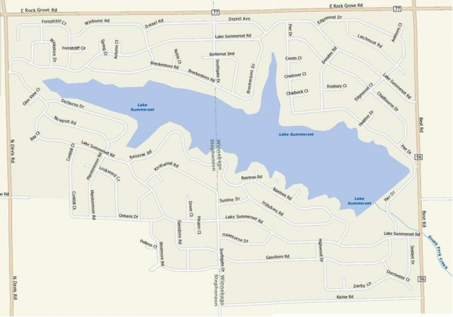 129 Newport Road - Lake Summerset, IL 61019 - MLS# 10034601 ... on north chicago real estate map, eagle ridge resort map, illinois real estate map, lake carroll real estate map,