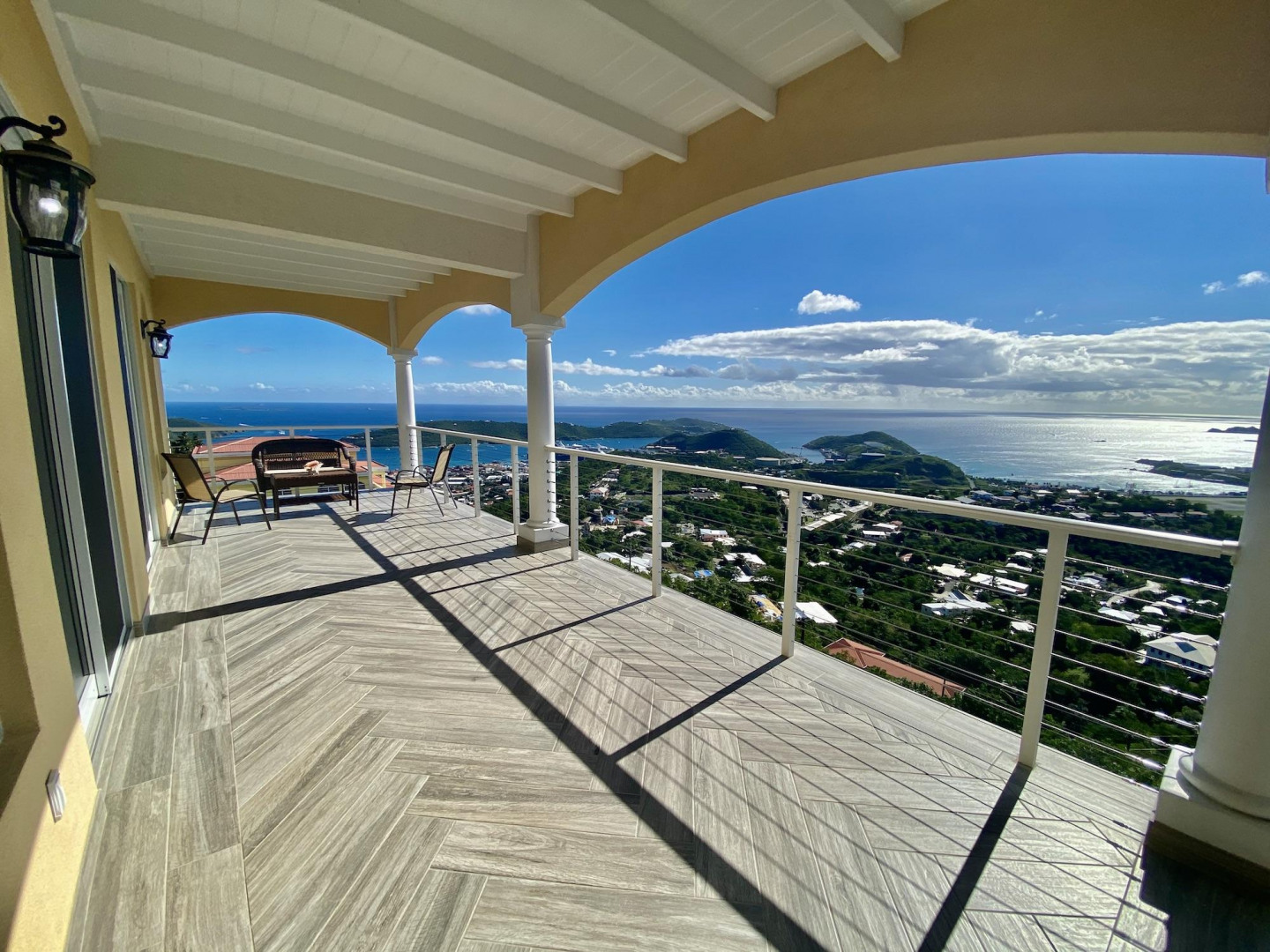 Large Porch with Ocean Views