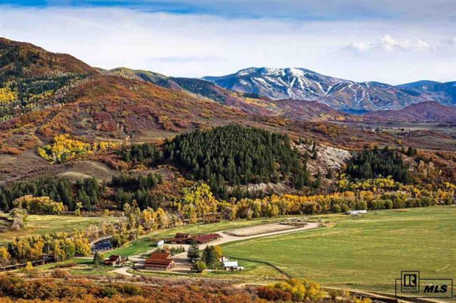 Beautiful 490+ acre ranch with miles of the Elk River for your fly-fishing enjoyment.