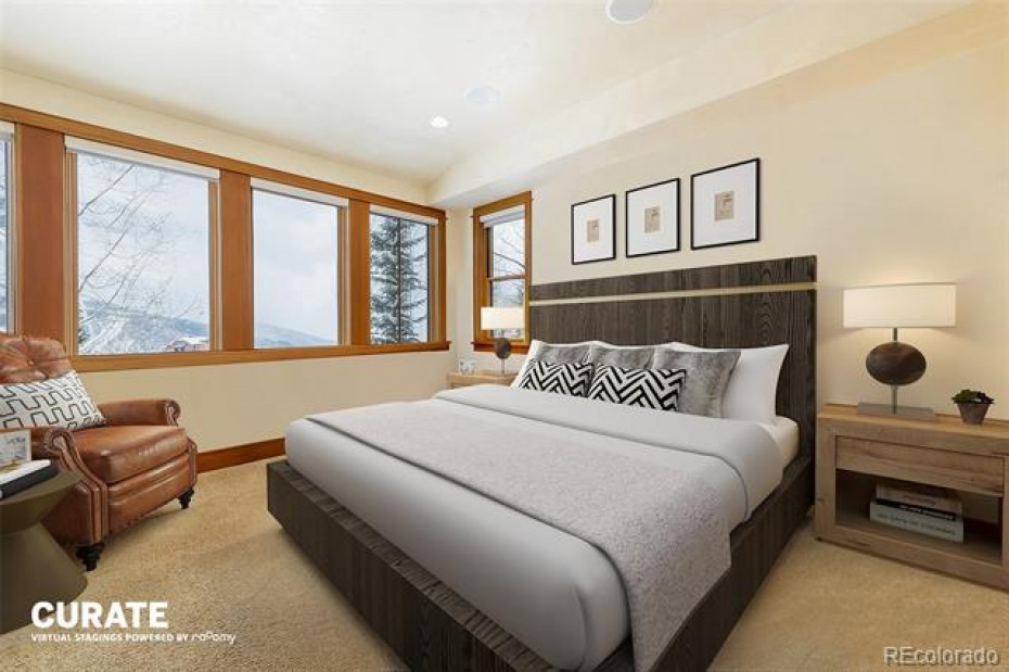Virtual Staging- Master Bedroom