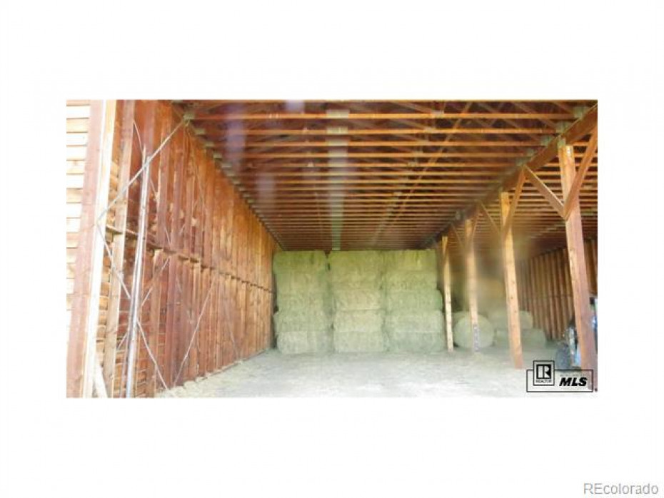 Hay/Equipment storage